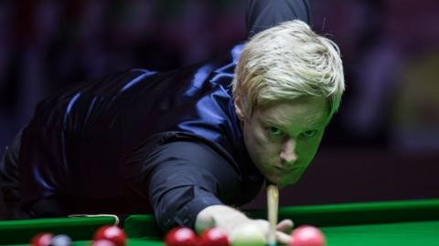 Neil Robertson in Hong Kong