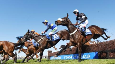The 2015 Scottish Grand National at Ayr Racecourse