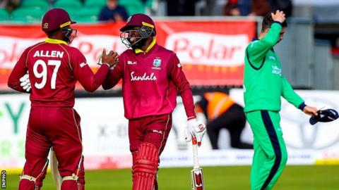 Ireland To Play West Indies In Six Match Series In January