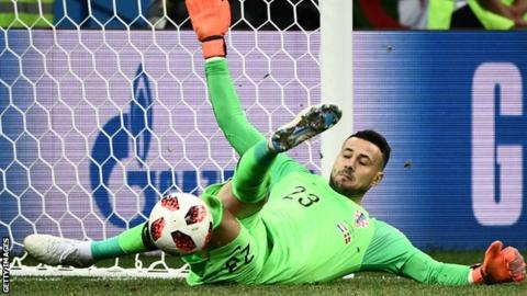 Croatia beats Russian Federation  on penalties