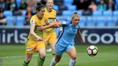 Yeovil Town Ladies v Manchester City Women