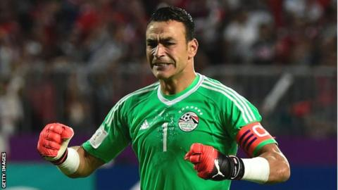 Egypt's Essam El-Hadary becomes World Cup's oldest-ever player