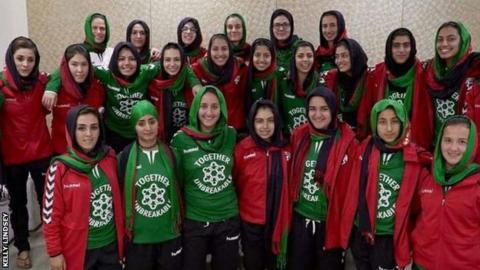 Afghanistan women's team