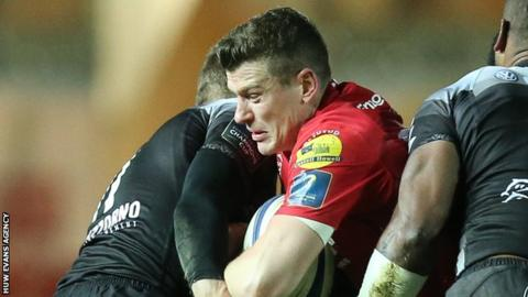 Scarlets become first Welsh side in six years to reach Champions Cup quarters
