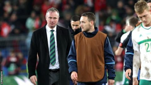 Northern Ireland narrowly lost their World Cup play-off against Switzerland in November