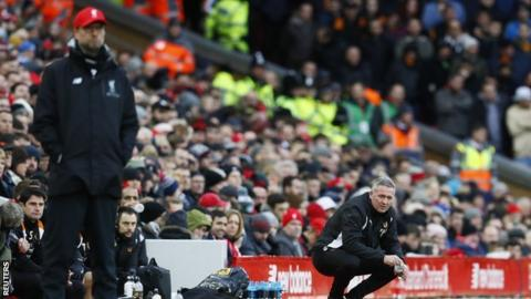 The high point of Paul Lambert's four months at Molineux was Wolves' FA Cup fourth-round win over his old German friend Jurgen Klopp's Liverpool