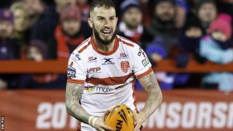 Ben Crooks of Hull KR