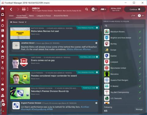 Football Manager screenshot