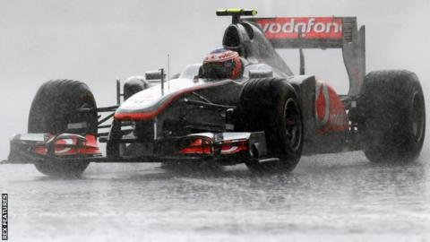 jenson Button wins the 2011 Canadian GP