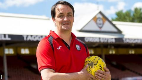New Partick Thistle chief executive Gerry Britton