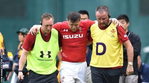 Steff Evans injured