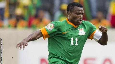 Zambia captain and former Nations Cup winner, Christopher Katongo