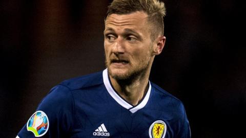 Scotland defender Liam Cooper