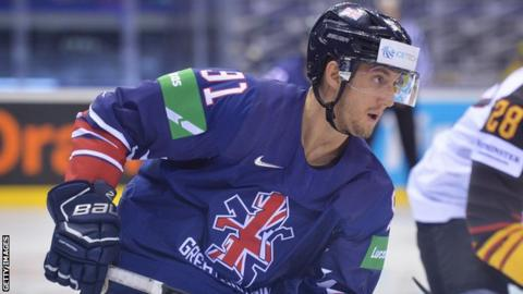 Great Britain's Ben Lake will be playing in teal at the SSE Arena next season