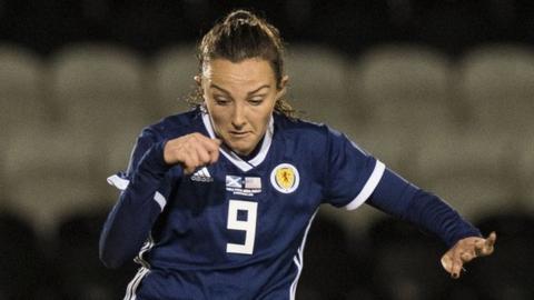 Scotland midfielder Caroline Weir
