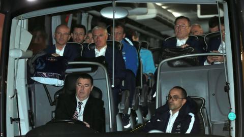 France team bus