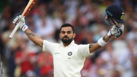 Virat Kohli & James Anderson top ICC Test rankings - BBC Sport