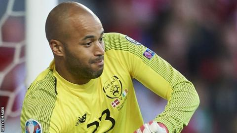 Randolph has missed Middlesbrough's last two games with a thigh problem