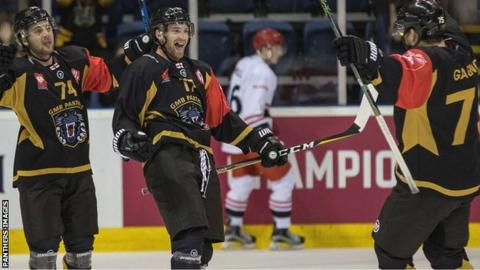 Panthers celebrate