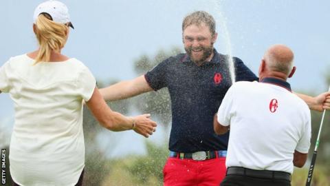 Andy Sullivan wins Portugal Masters