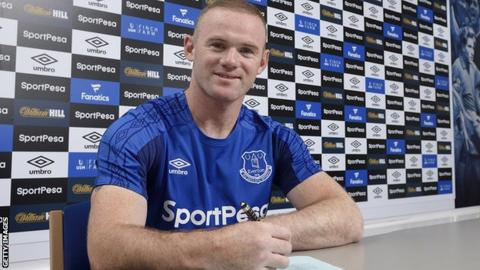 Wayne Rooney has signed a two-year deal - with Everton announcing the deal with the tweet 'Once a Blue...'