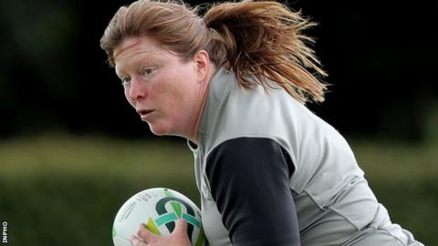 Ireland prop Ruth O'Reilly will be sidelined for the remainder of the tournament