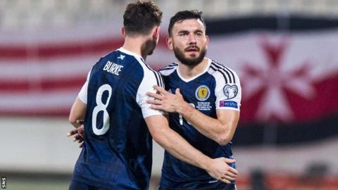 Scotland attackers Oliver Burke and Robert Snodgrass