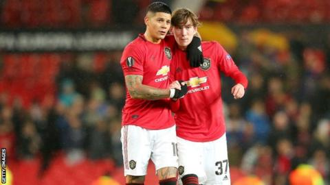 Man Utd: Marcos Rojo set to join Estudiantes on loan