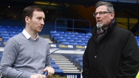 Craig Levein and Ian Cathro