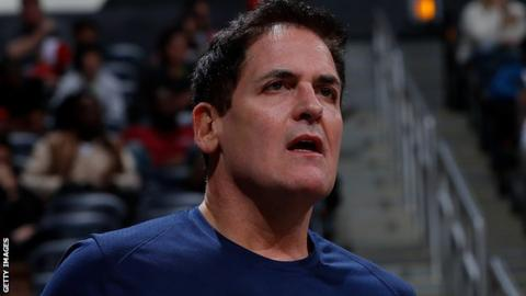 Dallas Mavericks boss Mark Cuban