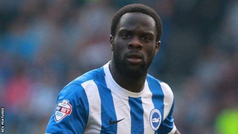 Ex Brighton striker Elvis Manu