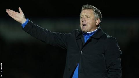 Northampton Town boss Chris Wilder