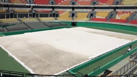 Rio Olympics tennis centre