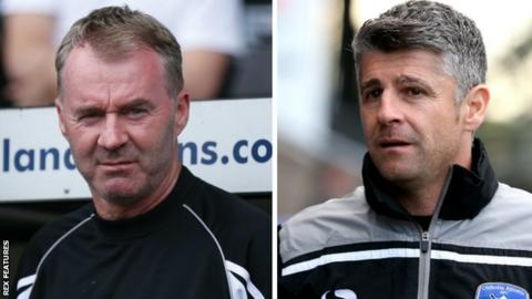 John Sheridan and Stephen Robinson
