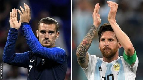 Deschamps and Lloris aware of Messi menace to France's World Cup dream