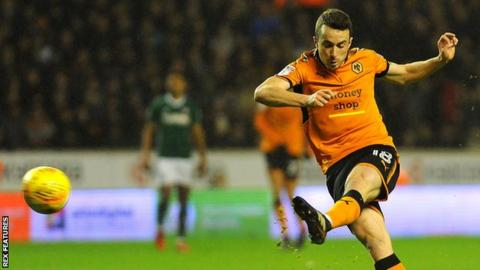 Diogo Jota in action for Wolves