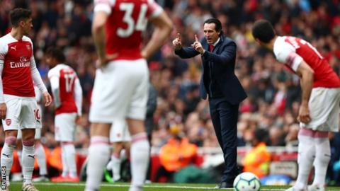 Unai Emery insists Europa League win is within Arsenal's reach