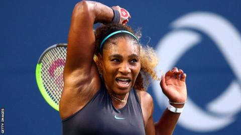 Rogers Cup: Serena Williams beats Elise Mertens in straight sets