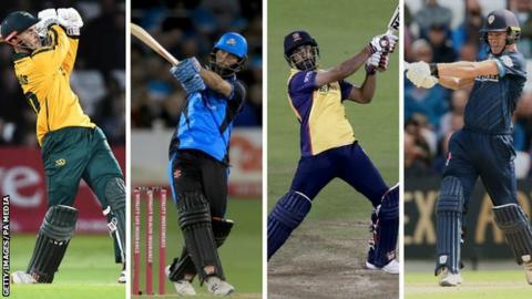 T20 Blast Finals Day: Will Worcestershire, Notts, Essex or Derbyshire win at Edgbaston?
