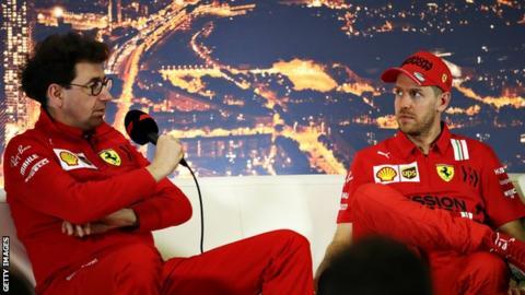 Vettel and Binotto