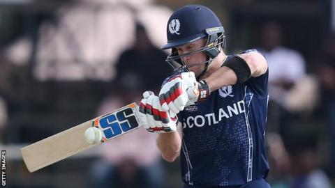 Scotland chase target in 3.2 overs after dismissing Oman for 24