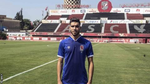 Morocco and Al Ahly's Walid Azaro