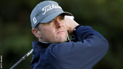 Michael Hoey missed the cut with a seven-over-par total in Spain