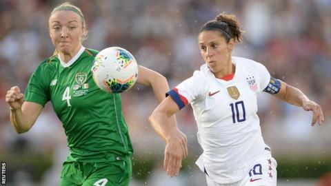 Soccer Star Carli Lloyd Offered Kicking Position in NFL Preseason
