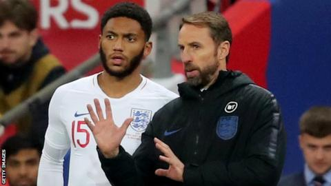 Joe Gomez can off the bench against Montenegro for his eighth England cap