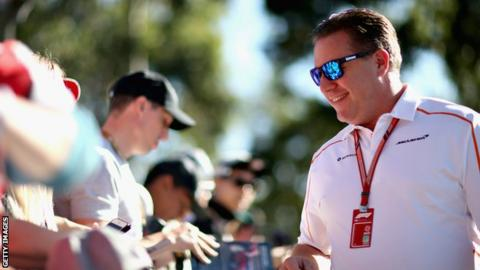 Zak Brown appointed as head of McLaren F1 Racing