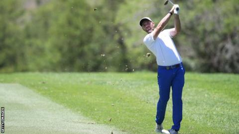 Lombard's dream inches closer as he leads at Sun City