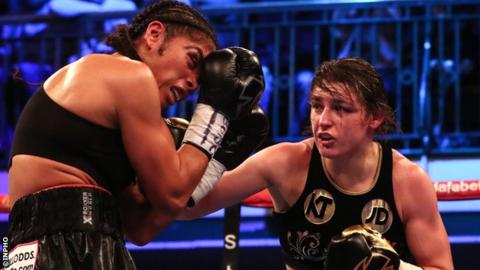 Taylor scored a unanimous points victory over American Jessica McCaskill in December