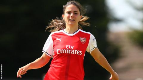 Arsenal ladies danielle van de donk signs new deal with gunners
