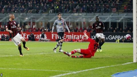 AC Milan v Alessandria